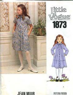 Vogue 1873 A - Vintage Sewing Patterns