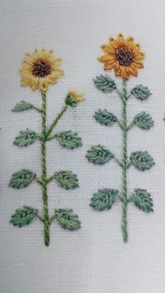【책소개】일본 크라프트 책 후기 - 작은 자수의 아름다움 Bullion Embroidery, Garden Embroidery, Hand Embroidery Projects, Silk Ribbon Embroidery, Embroidery Techniques, Floral Embroidery, Embroidery Stitches, Embroidery Patterns, Sewing Patterns