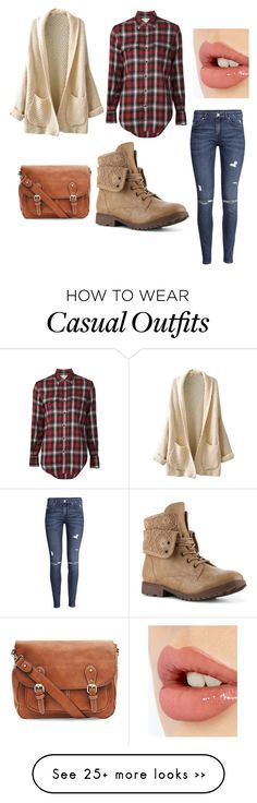 """""""Fall Casual"""" by livrocket on Polyvore featuring Yves Saint Laurent, H&M and Charlotte Tilbury"""