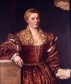 Bernardino Licinio, Portrait of a Lady  Musei Civici del Castello Visconteo, Pavia, Italy  ca. 1540