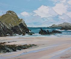Inspired by the rugged unspoilt Celtic landscapes of our west coasts and islands, Matthew has become one of the most original and sought after landscape artists working with acrylics in Wales. His paintings executed with a palette knife and applied in thick layers, show a unique and outstanding technical skill, not easy with such a …