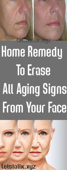 Amazing..!!! Home Remedy To Erase All Aging Signs From Your Face - Let's Tallk