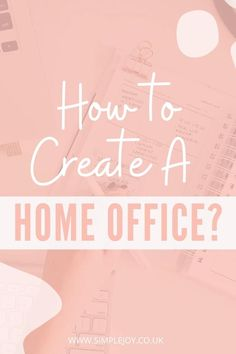 Check out how to declutter and organise your workspace to improve your productivity! Simple Joy   Intentional Living Coach, Decluttering & Minimalism. Helping people find more joy & less overwhelm by decluttering their home & lives. #simplejoy #organisation #organiseyourlife #workplace #productivity Organising Tips, Organisation Hacks, Organization, Workplace Productivity, Danish Words, Declutter Your Mind, Paper Clutter, Work From Home Tips, Wonder Women