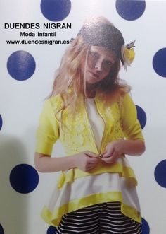 Top blanco con amarillo T 6, 34, 36, 38 y 40 ..... 85 €