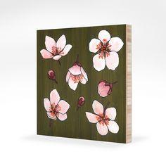Kate Halpin  acrylic and ink on bamboo katehalpinart.com