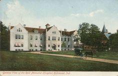Richmond IN Indiana Reid Memorial Hospital