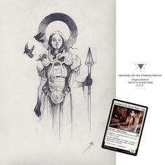 Sentinel of the Eternal Watch on Behance - Bastien Lecouffe Deharme