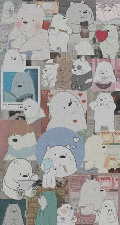 💗 Collage Walpaper Polar. 💗