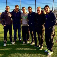 Jamie with friends in December 2014! Rory McIlroy!!!!!
