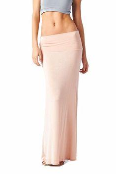 82 Days Women'S Rayon Span Regular To Plus Basic Maxi Skirt ...