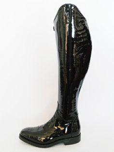 Red alligator custom riding boot by Lozano. Perfect for show ...