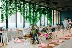 highly anticipated Long Summer Lunch kicked off the year once again in absolute style, this year with a magical, secret garden theme. Secret Garden Theme, Museum Of Contemporary Art, Alice In Wonderland, Vip, Sydney, Lunch, Events, Table Decorations, Space