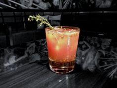 Gin & Thyme Cocktail Recipe #FoodRepublic