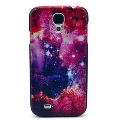 Space Star en Flower patroon plastic Protective Back Cover voor Samsung Galaxy S4 I9500 - EUR € 3.83