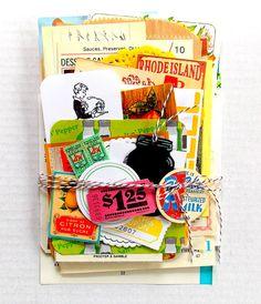 Vintage Ephemera Kitchen Pack / 50 Pieces / by vintagescrapshop