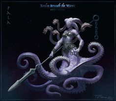 Beneath the Waves - Character/Creature Design... - The Art Showcase