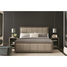 Shop the Fusion Upholstered Platform Bed at Perigold, home to the design world's best furnishings for every style and space. Plus, enjoy free delivery on most items. Twin Canopy Bed, California King Bedding, King Size Mattress, Upholstered Platform Bed, Wood Beds, Adjustable Beds, Headboard And Footboard, Panel Bed, Bed Sizes