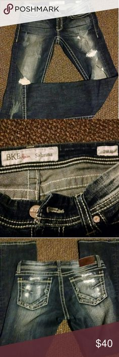 BKE Denim Jeans Only wearied 2 times and they are very comfortable pair of jeans! BKE Jeans Boot Cut