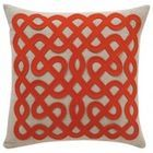 Hand-Embroidered Accent Pillow Cover Celtic Knot By Plumed - contemporary - pillows - - by Etsy