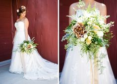 Rustic Dallas Styled Shoot by Brandi McComb Photography via 7 Centerpieces