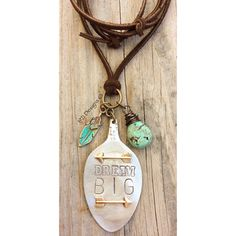Dream BIG hand stamped jewelry hand stamped by 1921Designs
