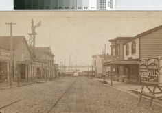 Looking south on 13th Avenue from East 12th Street ca.1885 [picture]