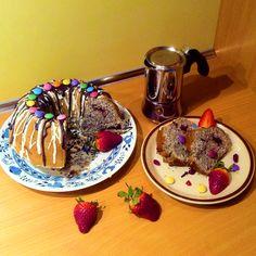 Čas Kávičky: Maková bábovka s lentilkami a džemem