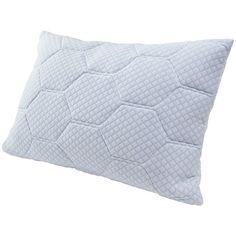 Tempure Rest Cooling Gel Reversible Memory Foam Loft Pillow