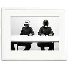 Daft Punk, Paris 2007 - small - 額装 by Sonic Editions