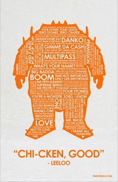 Fifth Element Quote Poster  11 x 17 by UnikoIdeas on Etsy, $18.00