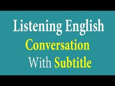 Daily English Conversation Lesson 001 - Speaking English Fluently For Beginners: Basic English Conversation. English Tips, English Study, English Lessons, English Class, Learn English, Listening English, English Speaking Practice, Teaching English, Synonym Activities