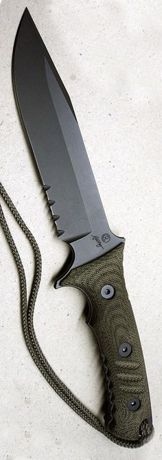 Chris Reeve Pacific Tactical Fixed Knife Blade @thistookmymoney