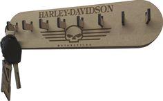 Laser cut key-ring holder.