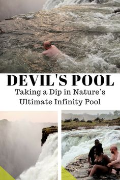 Complete guide to the Devil's Pool – Victoria Falls, Zambia  #africa #travel #bloggers #vacation #femaleblogger #adventure#victoriafalls #AfricanBloggers