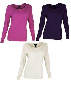 Ann Taylor Long Sleeve Top Ribbon Trim Scoop Neck Shirt S L XL Lightweight NEW #AnnTaylor #KnitTop #Casual
