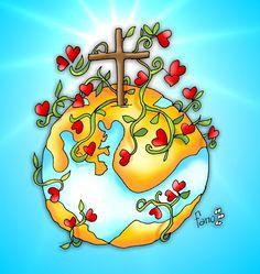EL ÁRBOL DE LA VIDA, REGADO POR LA SANGRE DE MI JESÚS, HARÁ FLORECER DE AMOR AL MUNDO ENTERO.