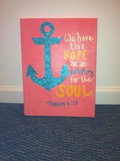 love this bible verse and canvas
