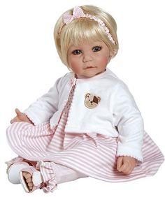 """Adora Bear Necessities Baby Doll Vinyl 20"""""""
