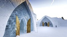 Winter Destination Wedding: Hotel de Glace, Quebeq