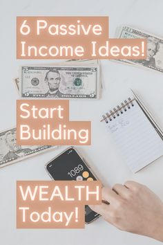 Start building your wealth! There is always a way for you to earn more money and build your wealth. Working smarter is always better than working harder. Not to say that it will not require the grind but will make you money while you sleep. #passiveincome #passiveincomeideas #passiveincomestreams #makemoney #inspriration #buildyourwealth