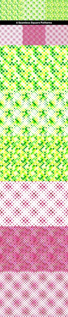6 Seamless Square Patterns #VectorBackgrounds #CheapVectorPattern #seamless #GeometricPattern #PatternCollections #PremiumVectorBackground #geometry #CheapVectorGraphics #pattern #PatternGraphics #abstract #GeometricDesign #CheapVectorGraphic #VectorImage #CheapVectorBackground #AbstractBackgrounds #BackgroundSale #GeometricGraphics #PatternCollections