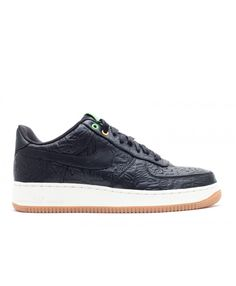 Air Force 1 Low Pm Qs Brasil Black, Black 486815-001 Air Force 1, Nike Air Force, Nike Shoes, Sneakers Nike, Mens Trainers, Nike Men, Shop Now, Shopping, Black