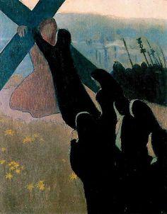 Maurice Denis「Le Calvaire」(1889)
