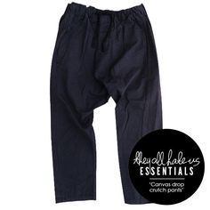 ASSEMBLY LABEL - THE DROP CRUTCH PANT