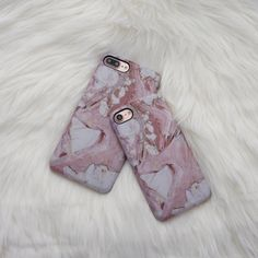 Marble Case for iPhone 7 - Rose - Elemental Cases -  - 2