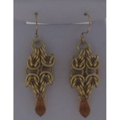 Only $4.99. Gold byzantine and Swarvoski Crystals at bluelynx.webstore.com