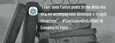 #CurriculumDelLettore di Giovanna Di Troia: giornalista, blogger e organizzatrice di eventi