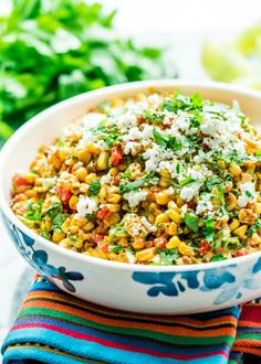 Mexican Street Corn Salad - Jo Cooks
