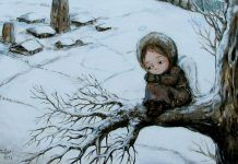 View album on Yandex. Winter Illustration, Cute Illustration, Graphic Design Illustration, Painting For Kids, Art For Kids, Children Painting, Character Drawing, Stone Painting, Cute Art