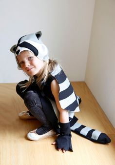 Diy raccoon costume with printable mask raccoon costume costumes this is an instant download for a pdf sewing pattern only not a solutioingenieria Gallery